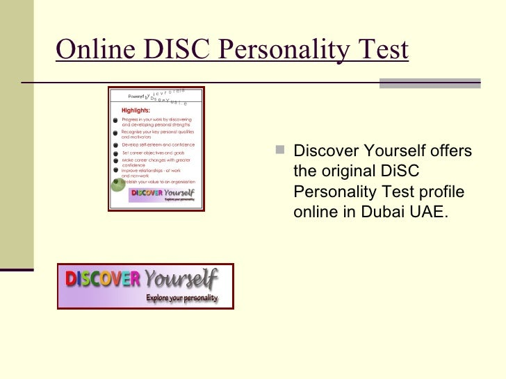 Result of Disc Personality Test Online – My Sweet Home