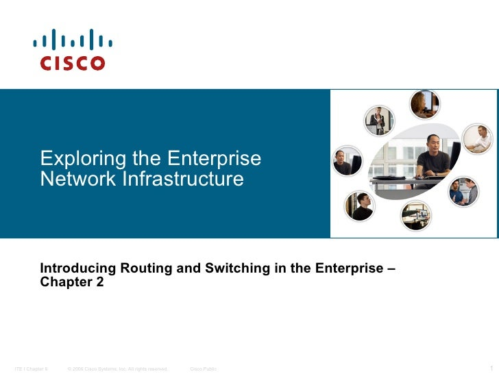 Exploring the Enterprise Network Infrastructure   Introducing Routing and Switching in the Enterprise   – Chapter 2