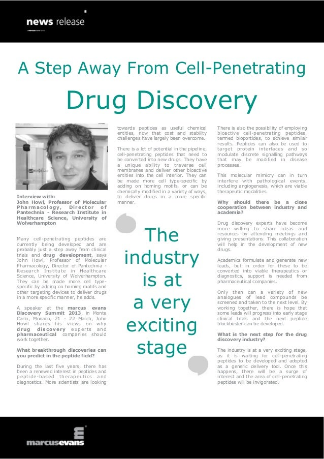 A Step Away From Cell-Penetrating                     Drug Discovery                                           towards pep...