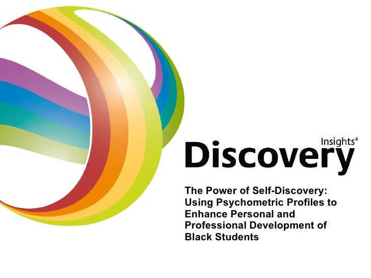 The Power of Self-Discovery: Using Psychometric Profiles to Enhance Personal and Professional Development of Black Students