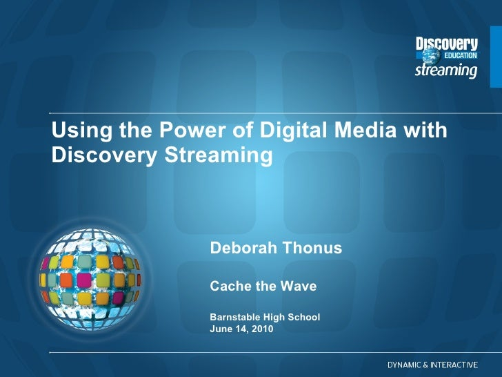 Discovery Workshop for Cache the Wave