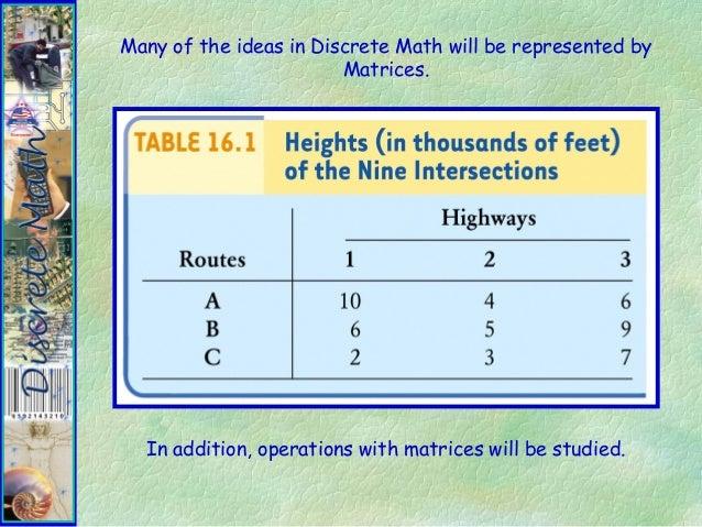 Discrete mathematics - Wikipedia