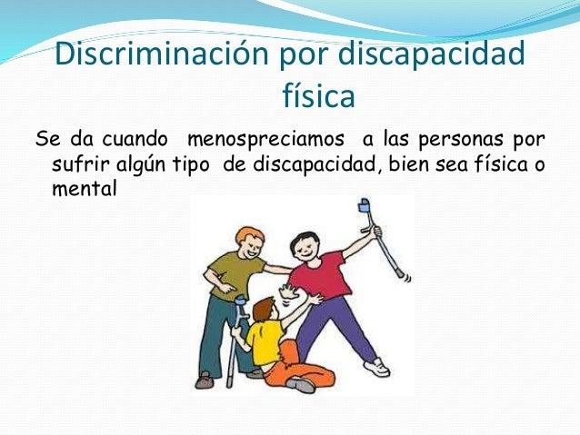 Tipos De Discriminaci N