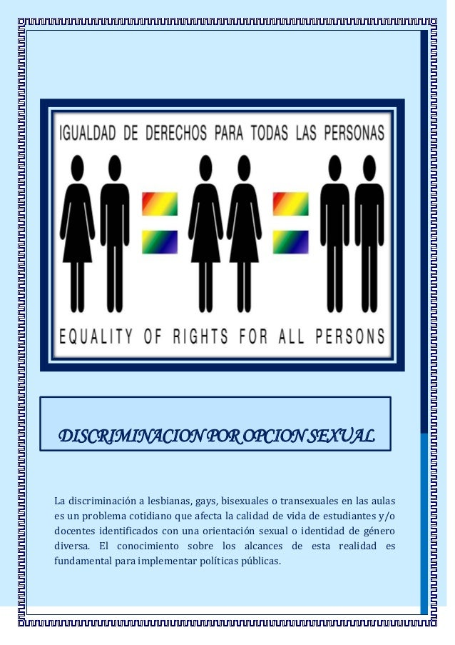 Que es orientacion homosexual rights