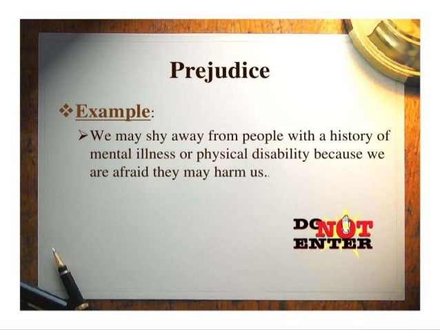 Stereotypes Prejudice And Discrimination In Psychology