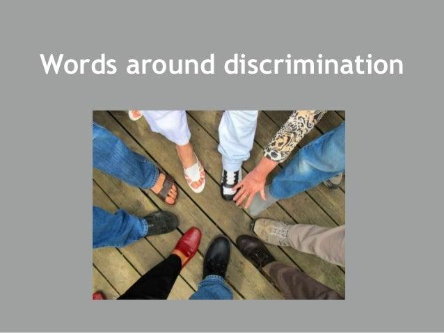 Discrimination 2016