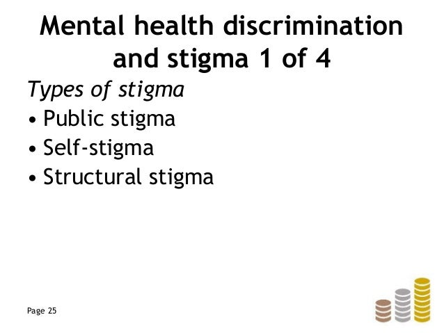 mental illness discrimination Nhs managers in england are accused of shocking discrimination in commissioning mental health services by a  in its treatment of people with mental illness.