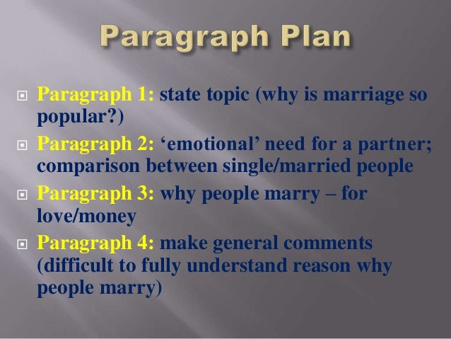 discursive essay fully understanding the reason why people marry 16