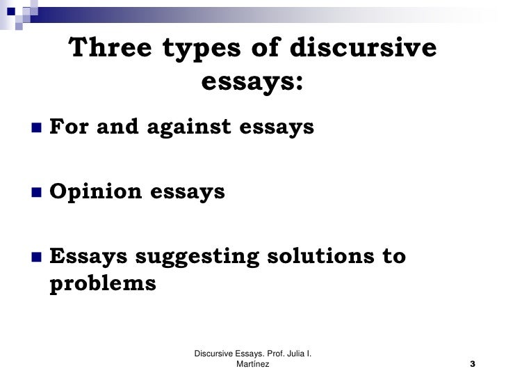 Writing custom essays discursive