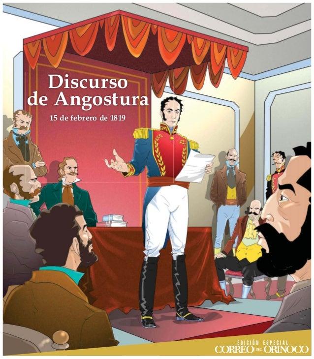 Resultado de imagen para Simón Bolívar discurso de angostura