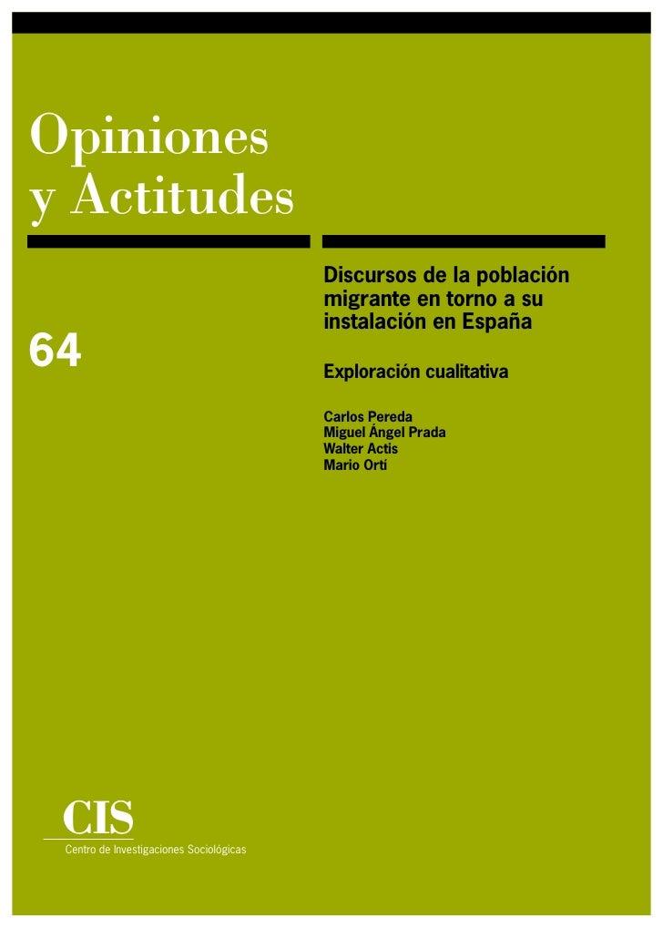 Opiniones y Actitudes                                           Discursos de la población                                 ...