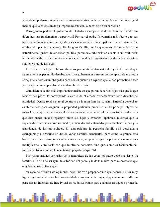 Discurso sobre economía política de Rousseau