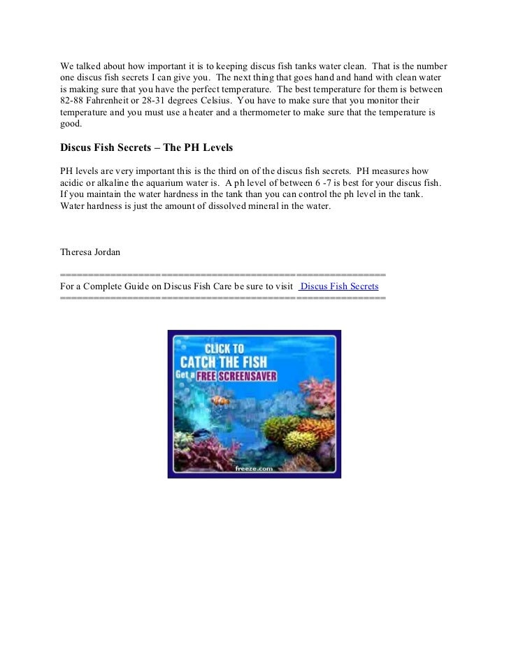 Discus fish care secrets for How to clean an old fish tank