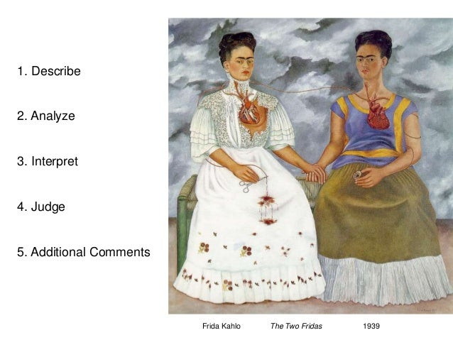"essay on the two fridas Below is a free essay on ""frida kahlo's the two fridas"" from anti essays, your source for free research papers, essays, and term paper examples frida kahlo was one of the most influential and well-known mexican artists during her time."