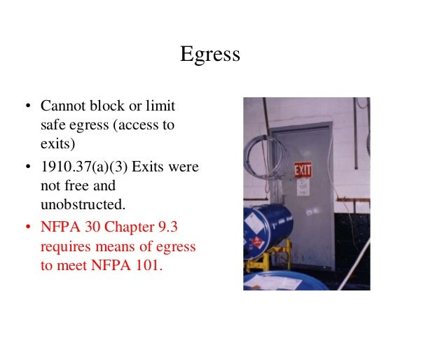 Discussing osha 1910 106 nfpa 30 and recent fire incidents