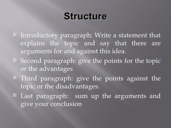 Discussion essay