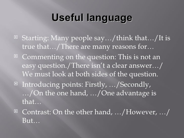 Starting A Discussion Essay Examples - image 7