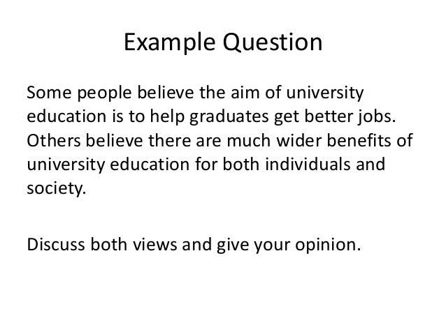 IELTS Task 2 Discussion Essay Lesson