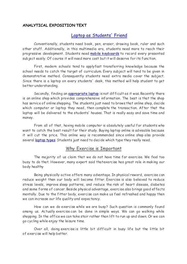 Discussion Tex1 English