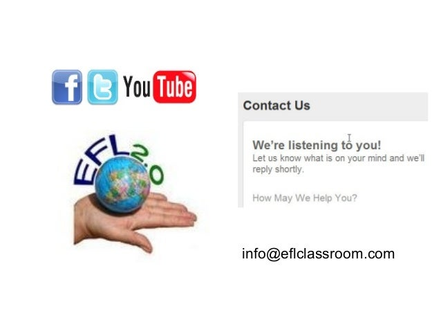 Keep In Touch info@eflclassroom.com