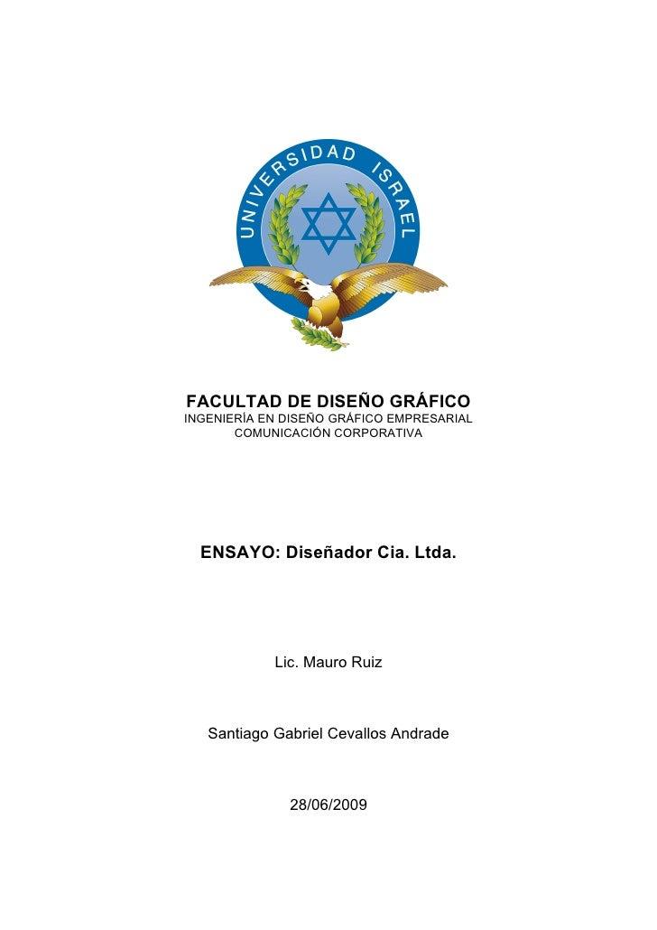 Diseñador Cia. Ltda.