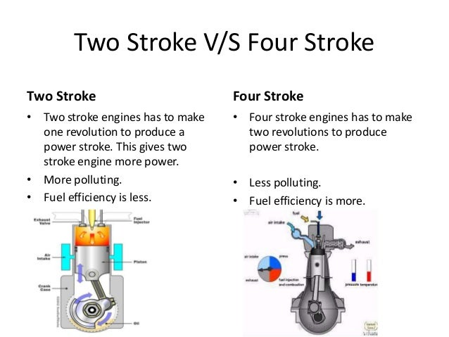 two stroke engine pollution