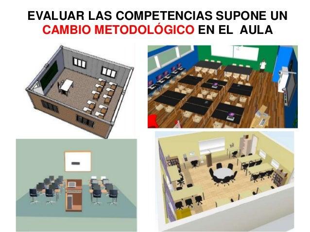 EVALUAR LAS COMPETENCIAS SUPONE UN CAMBIO METODOLÓGICO EN EL AULA