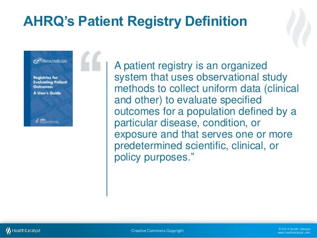 Computerized Disease Registries | AHRQ National Resource ...