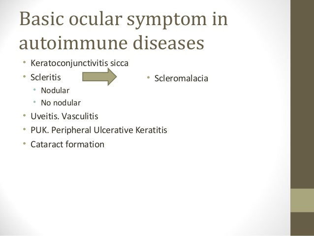 Ophthalmological Manifestations Of Systemic Diseases