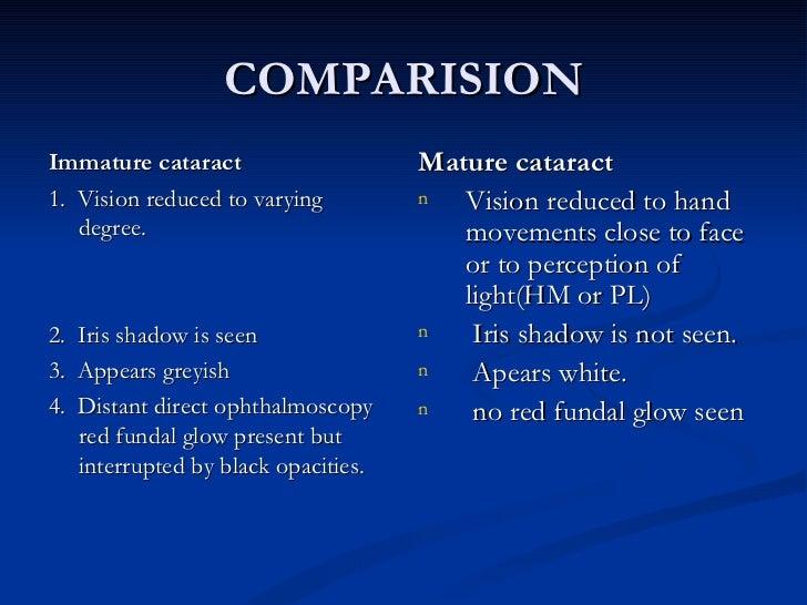 cataract and its treatment pdf