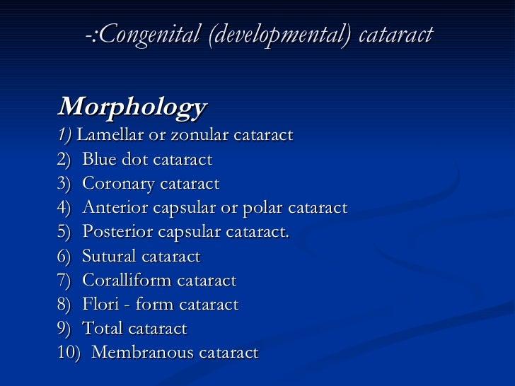 Ophthalmologydiseases Of The Lensdrbaxtyar