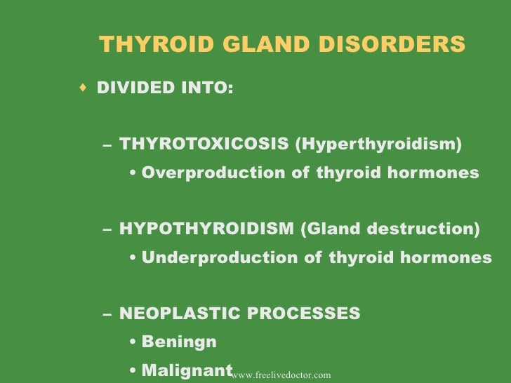 diseases of thyroid gland, Powerpoint templates