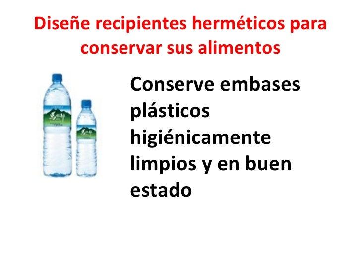 Dise e recipientes hermticos para conservar sus alimentos - Recipientes para alimentos ...