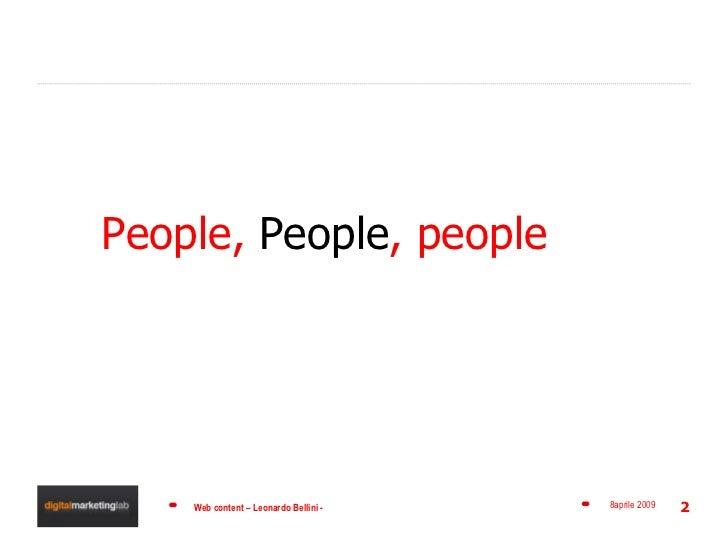 Disegnare le Personas - Web design Slide 2
