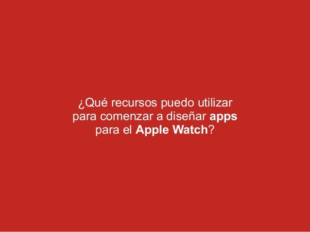 C mo dise ar apps para el apple watch for App para disenar habitaciones