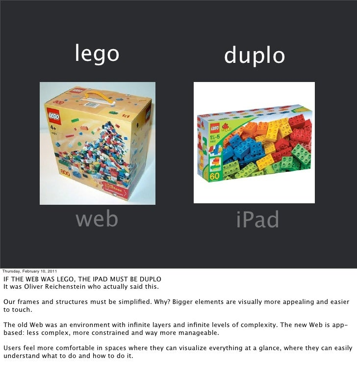 Design principles for the iPad by Vostok Slide 3