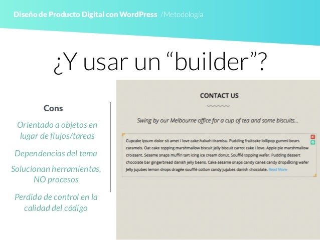 Diseño de Producto Digital con WordPress