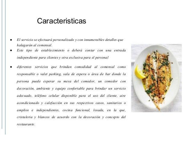 Proyecto restaurante de lujo frances for Proyecto restaurante pdf