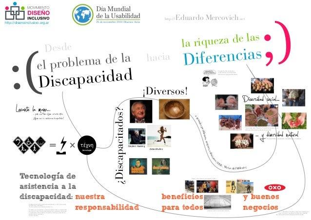 http://disenoinclusivo.org.ar 28 de noviembre 2010 | Buenos Aires Eduardo Mercovichhttp:// . .net :(Discapacidad el proble...