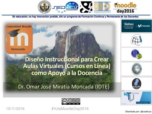 1 Dr. Omar Miratía En educación, no hay innovación posible, sin un programa de Formación Continua y Permanente de los Doce...