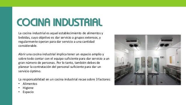 Primera investigacion cocinas industriales seccion 01 for Cocina de investigacion