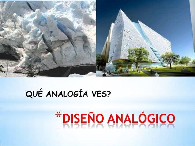 Dise o analogico for Que es diseno en arquitectura
