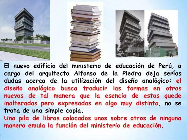Dise o analogico for Arquitectura para la educacion pdf