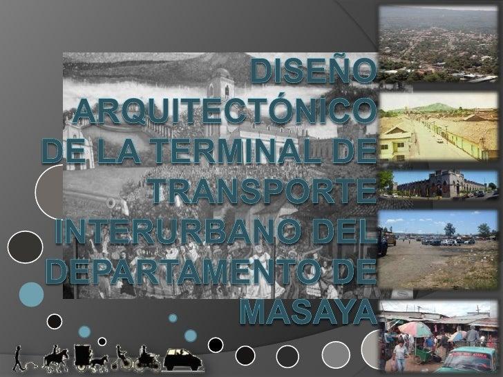UNIVERSIDAD NACIONAL DE INGENIERÍA                         FACULTAD DE ARQUITECTURA                Tesis Monográfica para ...