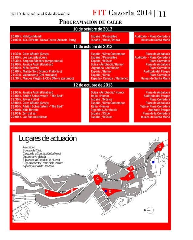 Programa FIT Cazorla 2014