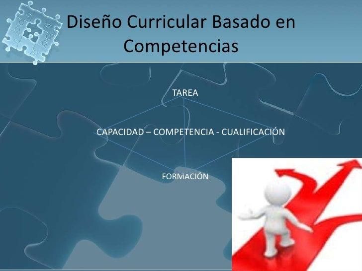 Diseño curricular basado en competencias