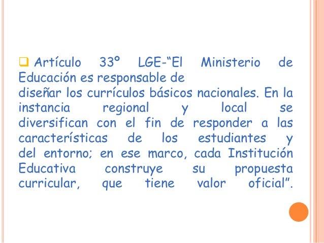 DISEÑO CURRICULAR NACIONAL RESOLUCIÓN MINISTERIAL Nro. 0440-2008-ED  Aprobar el Diseño Curricular Nacional de la Educació...