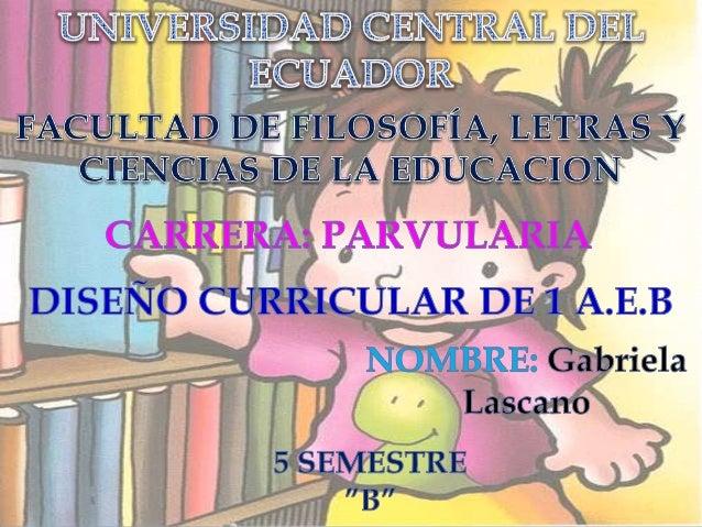 Dise o curricular segunda parte para educacion inicial for Diseno curricular educacion inicial