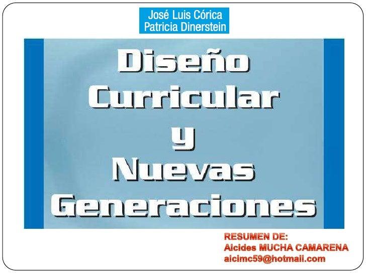 RESUMEN DE:<br />Alcides MUCHA CAMARENA<br />alcimc59@hotmail.com<br />