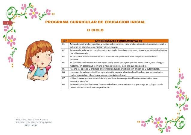 Diseño curricular y rutas de aprendizaje en el nivel inicial Slide 3